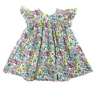 Jacadi Layette Floral Dress Made w Liberty Fabric